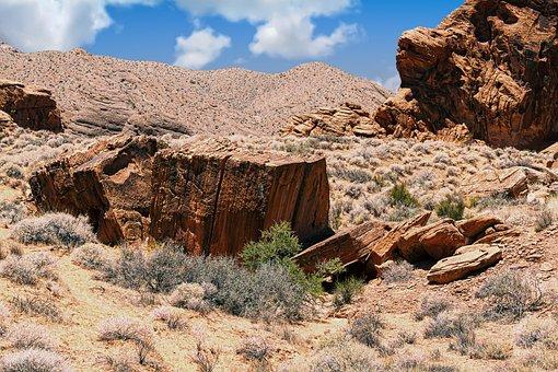 Desert, Rock, Landscape, Geology, Erosion, Nature