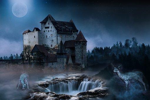 Landscape, Fantasy, Dream, Mystical, Meditation, Nature