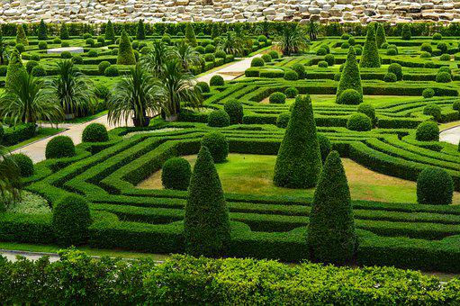 Park, French Garden, English Garden, Labyrinth