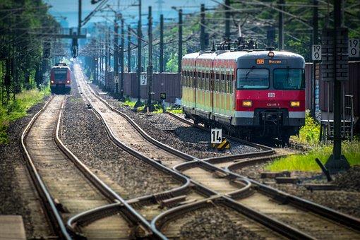 Railway, Train, Rails, S Bahn, Soft, Traffic, Transport
