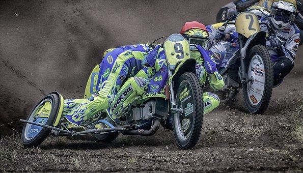 Motorsport, Speedway, Speedway Race, Racing, Sport