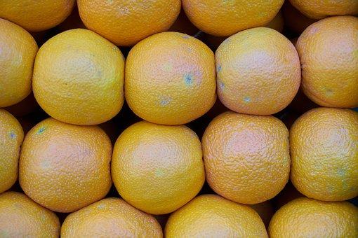 Grapefruit, Fruit, Fresh, Yellow, Juicy, Organic