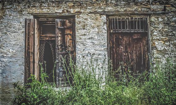 Old House, Facade, Architecture, Abandoned, Aged