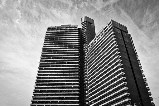Skyscraper, Apartment, Architecture, Building, City