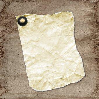 Background, Grunge, Texture, Old, Paper, Brown