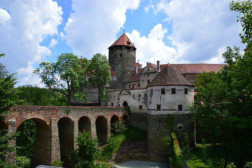 Castle, Architectural, Fortress, Historically