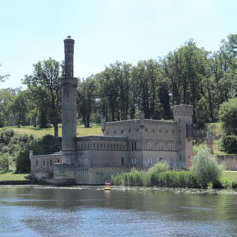 Steam Machine House, Steam Engine, Castle, Castle Park