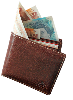 Wallet, Money, Pound, Wager, Cash, Banknote, Currency