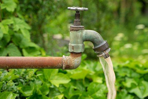 Faucet, Water, Garden, Cemetery, Site, Environment