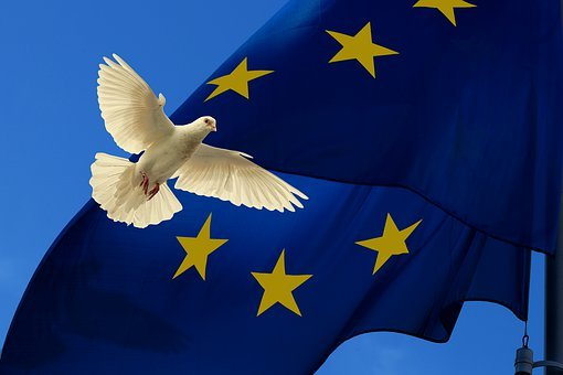 Europe, Flag, Harmony, Dove, Peace Dove, Unit, European