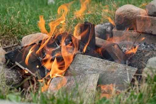 Fire, Fireplace, Flame, Burn, Heat, Hot, Campfire
