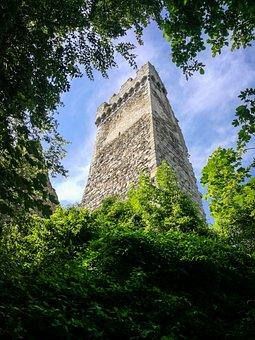 Castle, Ruin, Burgruine, Look Mountain, Fortress