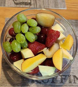 Fruit, Healthy, Vitamins, Eat, Strawberries, Food