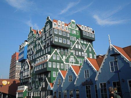 Zaandam, Holland, Netherlands, Architecture, Amsterdam