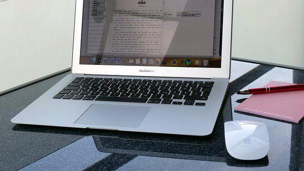 Mac, Calculator, Write, Laptop, Apple, Notebook