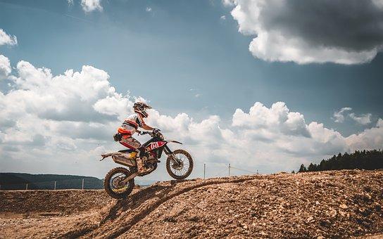 Motorbike, Enduro, Motocross, Motorcycle, Bike, Extreme