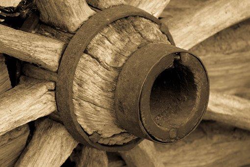 Wooden Wheel, Old, Tradition, Spokes, Nostalgia, Wood