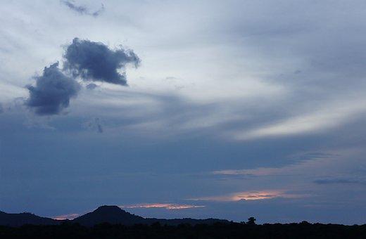 Landscape, Sunset, Mountain, Amazon, Venezuela