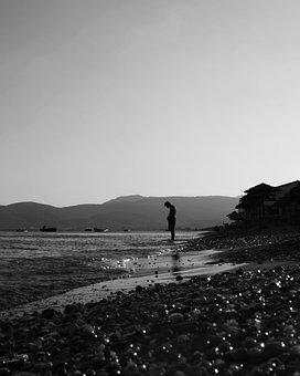 Beach, Sea, Water, Coastal, Waves, Holiday, Trip