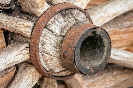 Wagon Wheel, Spokes, Wood, Old, Nostalgia, Antique