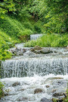Cascade, Water, Waterfall, Nature, Landscape, Creek