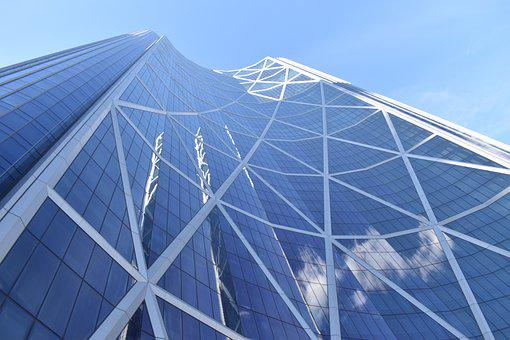 Skyscraper, Building, Urban, Architecture, Calgary