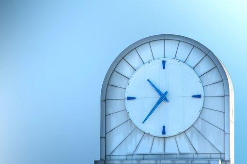 Architecture, Background, Capital, Center, Clock