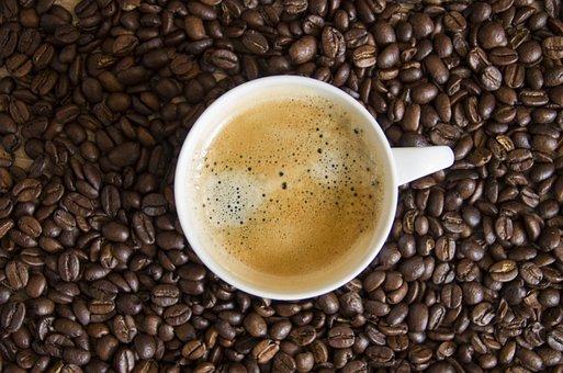 Coffee, Beans, Coffee Beans, Coffee Cup, Cafe, Caffeine