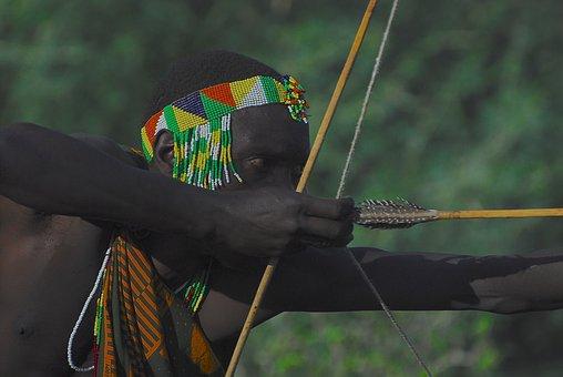 Hadzabe, Africa, Hunter, Village, Bushman, Community