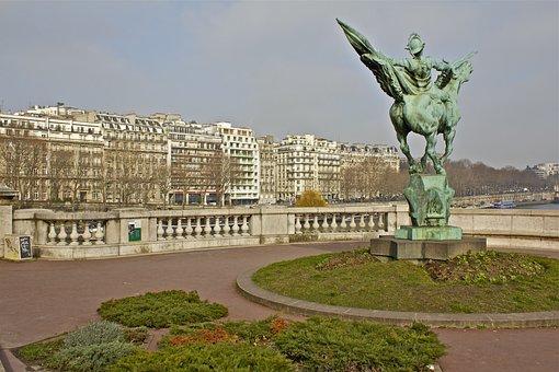 Paris, France, Architecture, Landmark, City, Building
