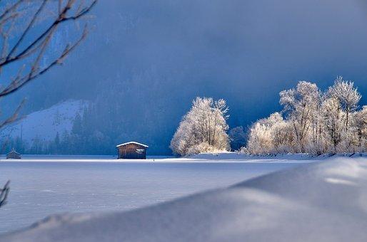 Landscape, Sky, Clouds, Hagertal, Tyrol, Kössen