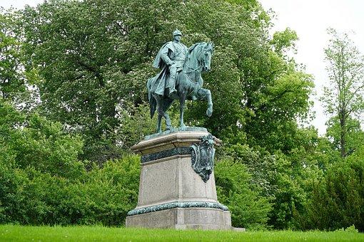 Equestrian Statue, Duke Ernst Ii, Coburg