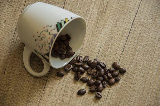 Coffee, Coffee Beans, Caffeine, Beans, Food, Aroma