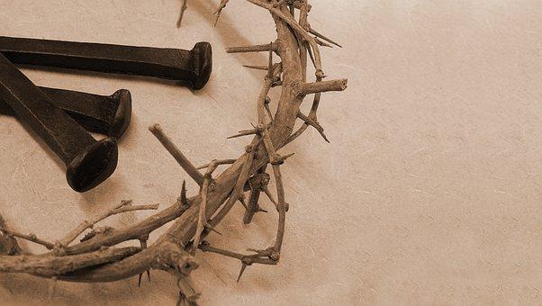 Thorn, Crown, Nails, Jesus, Christ, God, Holy, Spirit