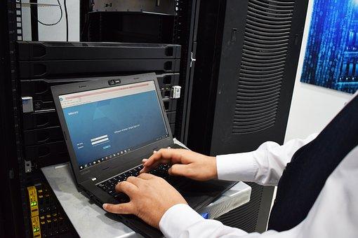 Datacenter, Computer, Data, Firewall, Network, Rack