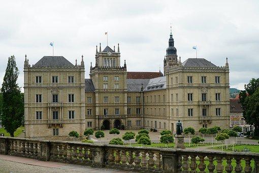 Ehrenburg Castle, Coburg, Residence, Castle, Duke