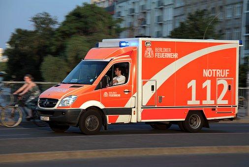 Ambulance, Fast, Emergency, Quick Help, Vehicle, Rescue