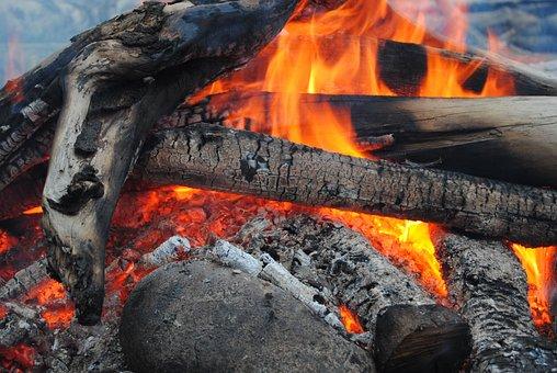 Fire, Campfire, Wood, Burn, Flame, Hot, Heat, Embers