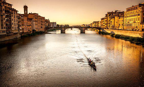 Florence, Italy, Tuscany, Architecture, City, Building