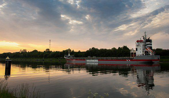 Nok, Freighter, Ship, Frachtschiff, North America