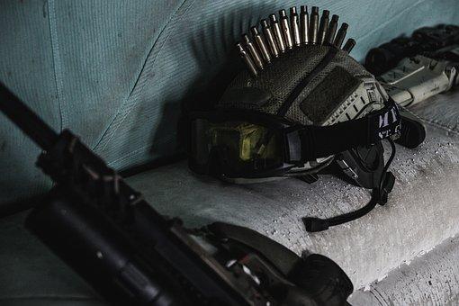 Rifle, Airsoft, Gun Barrel, Gun, Air Pressure Gun