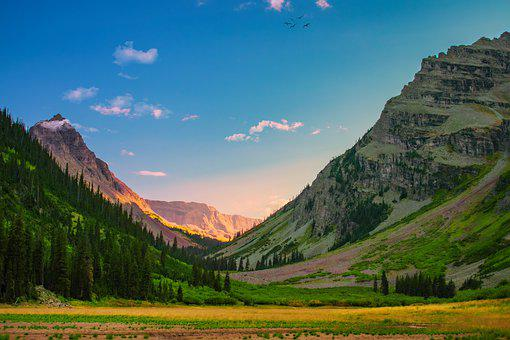 Mountain, Valley, Green, Nature, Mountains, Scenic