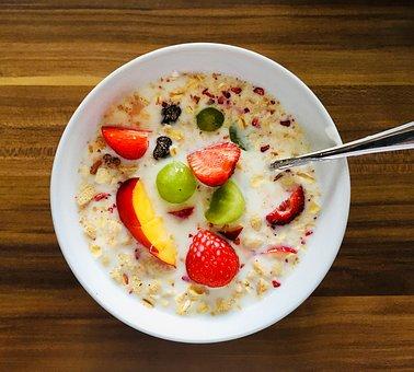 Breakfast, Muesli, Cereals, Healthy, Food, Nutrition