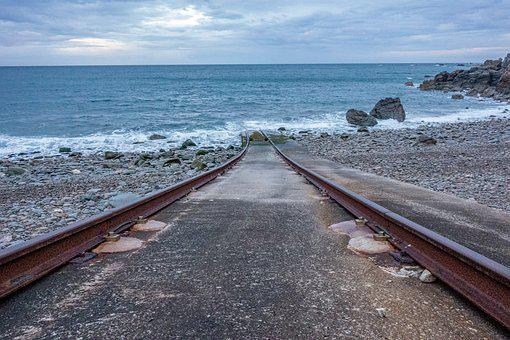 Rail, Shore, Sea, Ocean, Pier, Turquoise, Nature