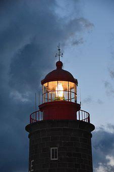 Lighthouse, Beacon Maritime, Navigation, Ocean, Coastal