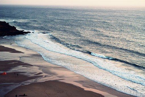 Ocean, Sea, Beach, Blue, Waves, Sand, Holiday, Summer