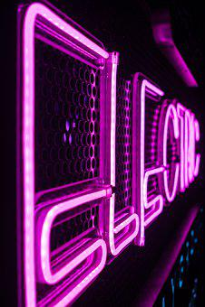 Electric, Neon, Light, Purple, Glow, Plasma, Physics