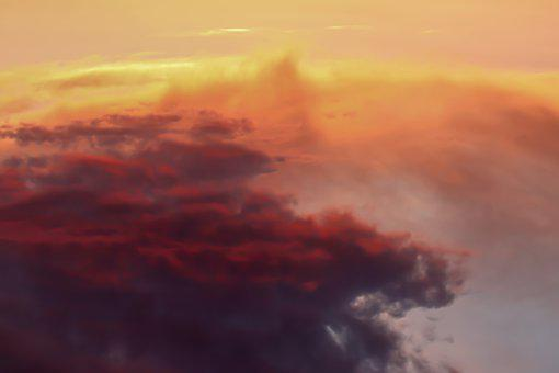 Clouds, Sky, Sunset, Sunrise, Weather, Atmosphere, Mood