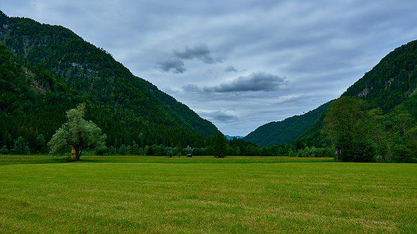 Hagertal, Tyrol, Green, Landscape, Mountains, Summer