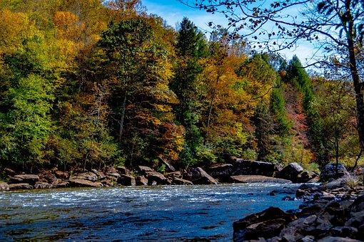 Gauley River, Summersville Dam, Summersville Lake